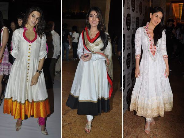 bollywood actresses in anarkali dresses beauty and blush