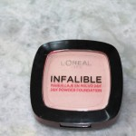 Loreal Paris Infalible 24H Reno Powder Foundation Review