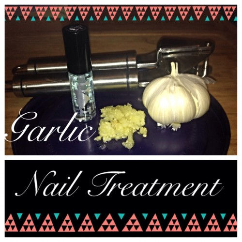 How to Get Stronger Nails With Garlic-diy