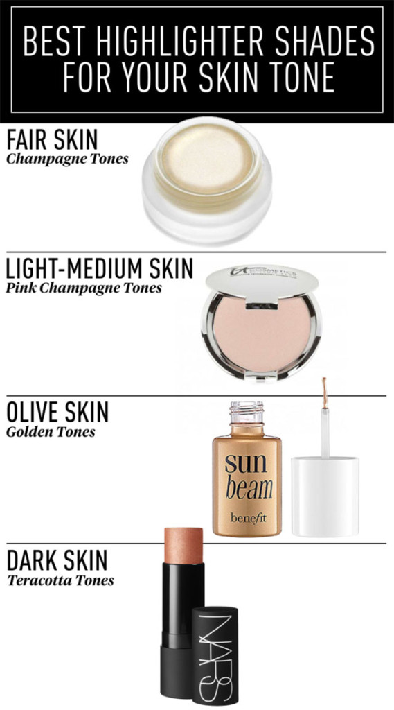 best-highlighter-shades-for-strobing-for-your-skin-tone