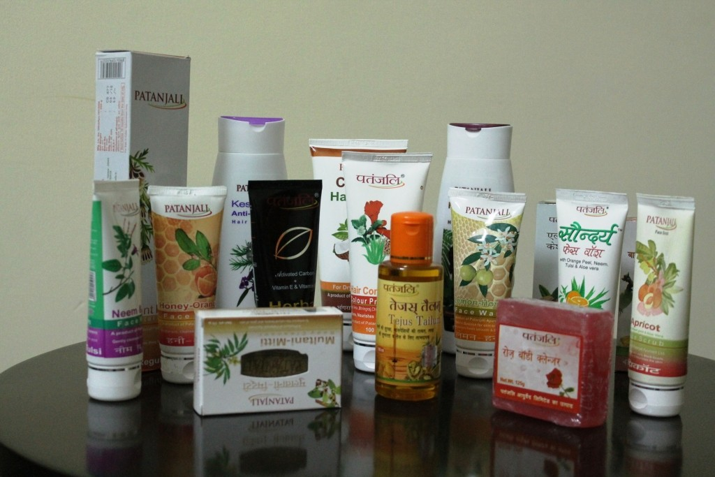 Independence Day Haul from Patanjali Ayurveda Limited