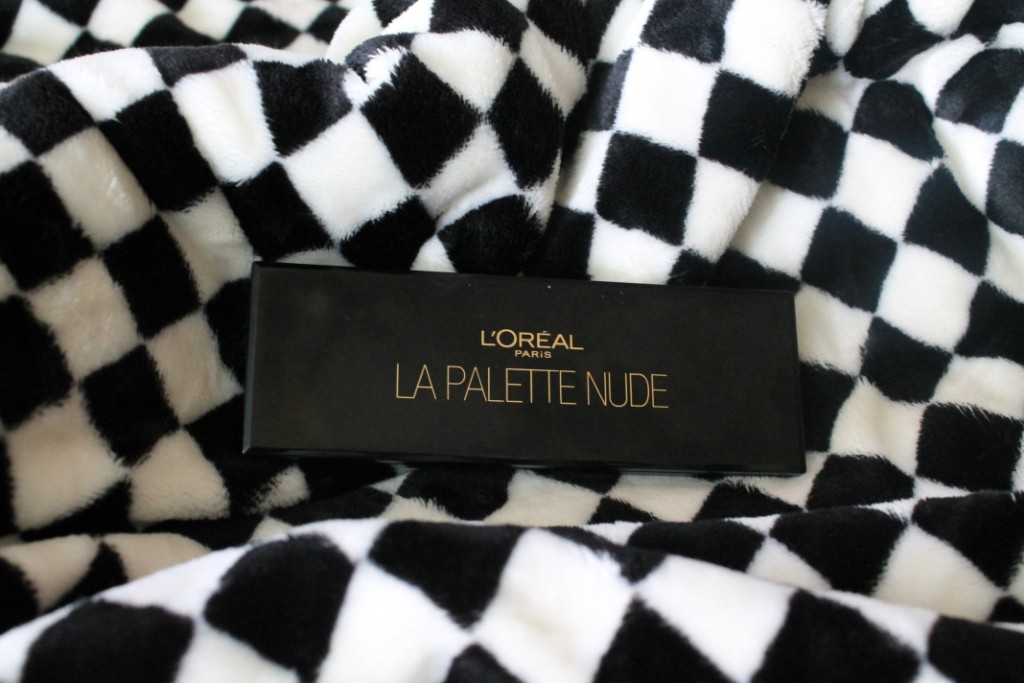 L'Oreal La Palette Nude Rose:Review and Swatches