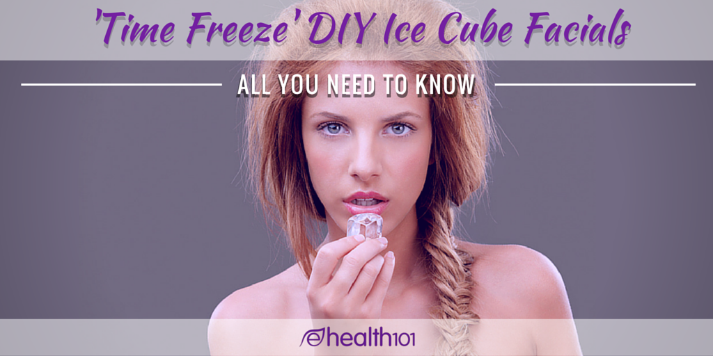 Ice Cube Facial for Youthful and Glowing Skin