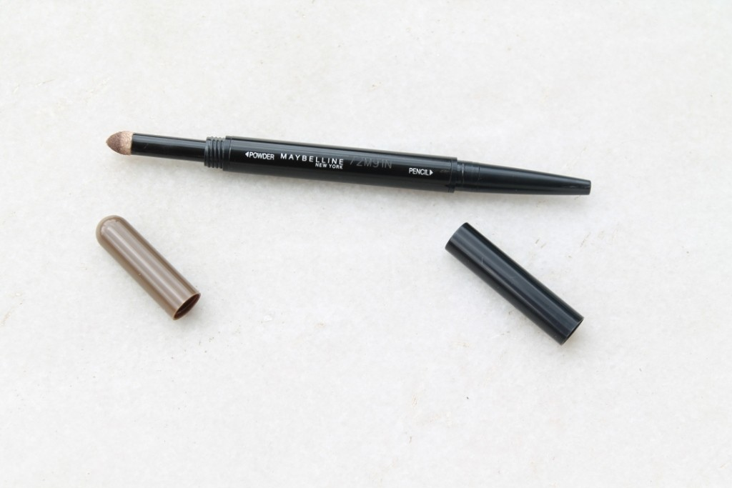 Maybelline Fashion Brow Duo Shaper Brown:Review and Swatches