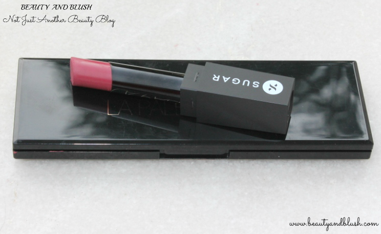 SUGAR It's A Pout Time! Vivid Lipsticks Breaking Bare Review and Swatches