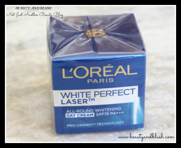 L'Oreal Paris White Perfect Laser All-Round Whitening Day Cream SPF 19 PA+++ Review