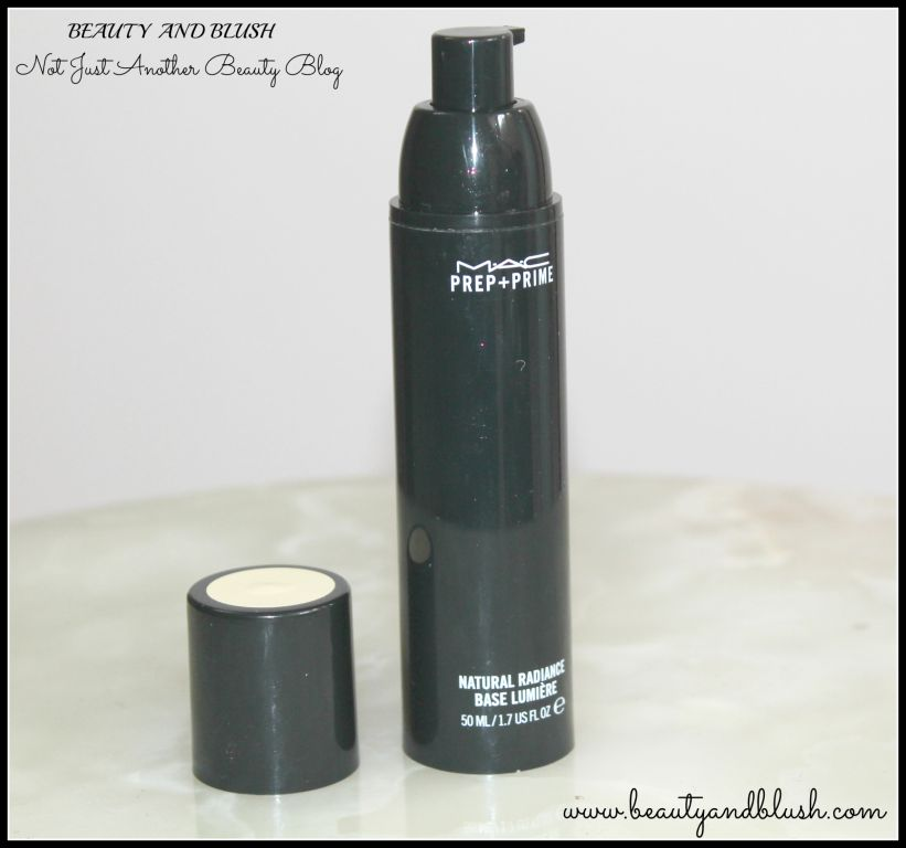 Mac Prep+Prime Natural Radiance Base Lumiere Review and Swatches