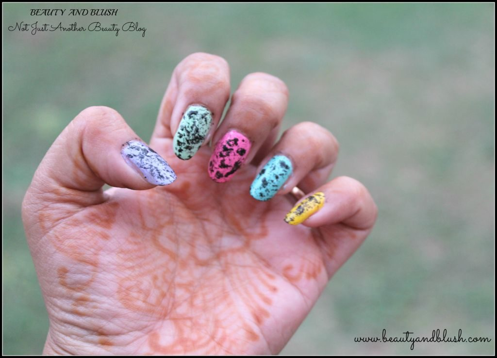 Toothbrush Nail Art