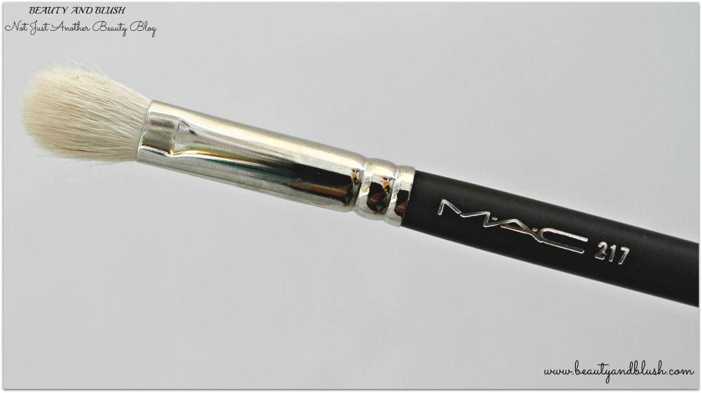 Mac 217 Blending Brush Review