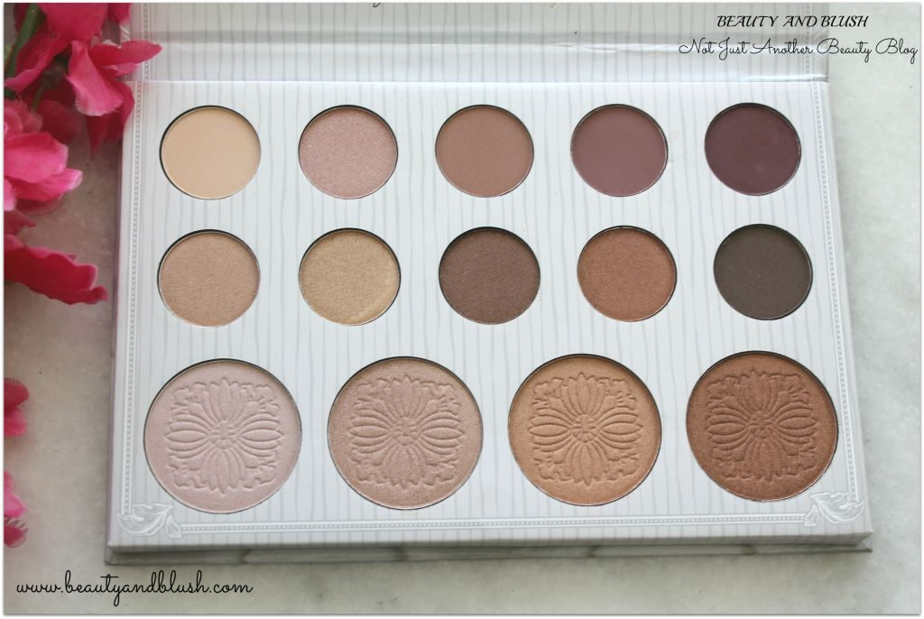 BH Cosmetics Carli Bybel Eyeshadow and Highlighter Palette Review