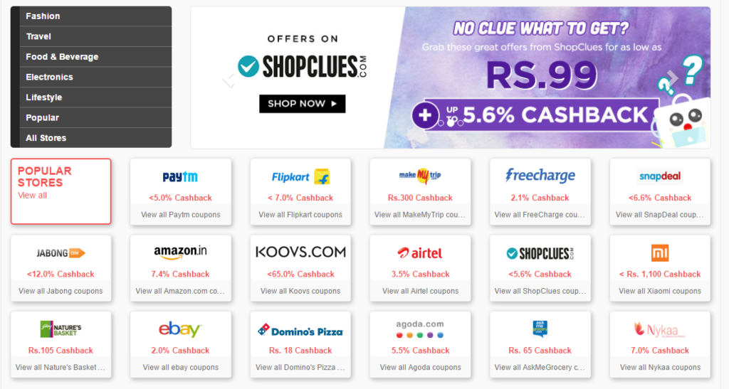 Grab the Paytm Offers while also Enjoying Cashback with ShopBack.in