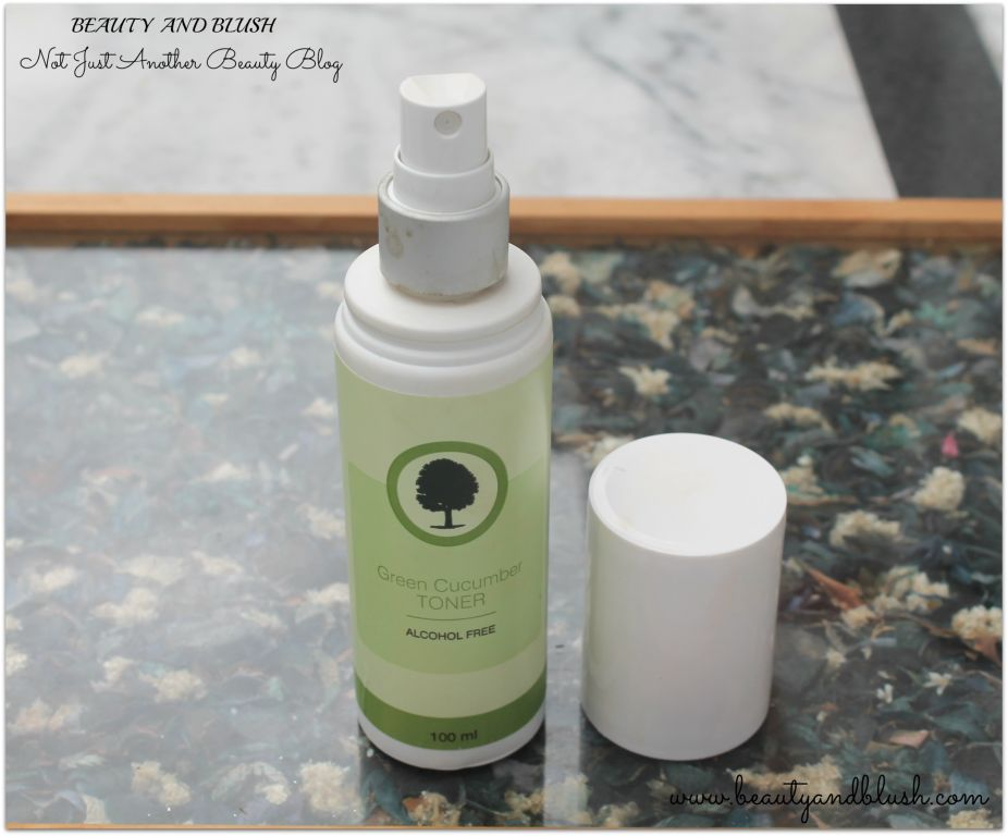 Organic Harvest Green Cucumber Toner Review