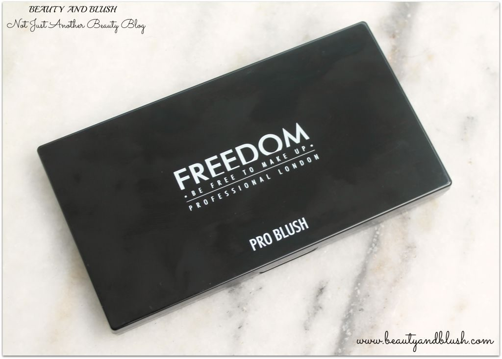 Freedom Pro Blush and Highlight Palette Pink and Baked:Review and Swatches