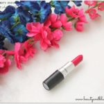 Mac All Fired Up Lipstick Review and Swatches