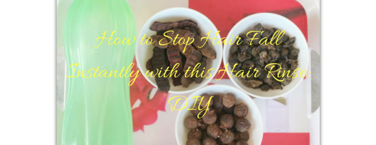 How to Stop Hair Fall Instantly with this Hair Rinse- DIY (1)