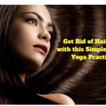Get Rid of Hair Fall with this Simple Indian Yoga Practice