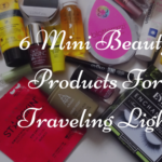 6 Mini Beauty Products For Traveling Light