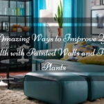5 Amazing Ways to Improve your Health with Painted Walls & Indoor Plants