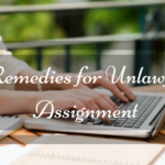 Remedies for Unlawful Assignment