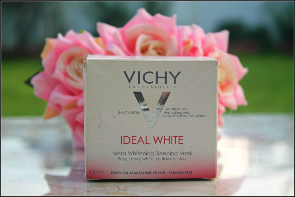 Vichy Ideal White Meta Whitening Sleeping Mask Review