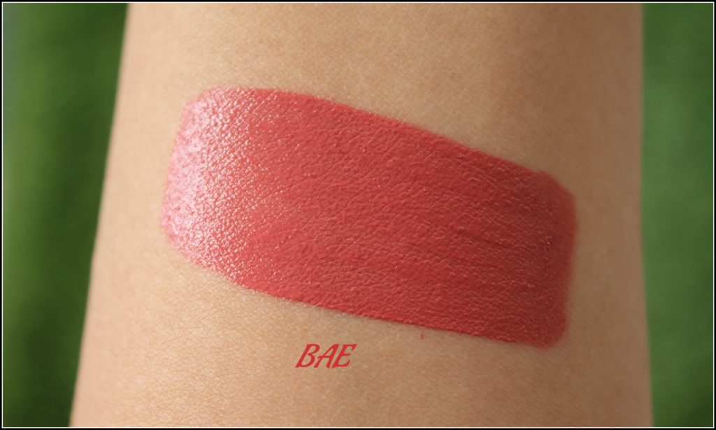 Nykaa Get Set Matte! Demi Matte Lip Cream in Shade BAE and Squad: Review and Swatches