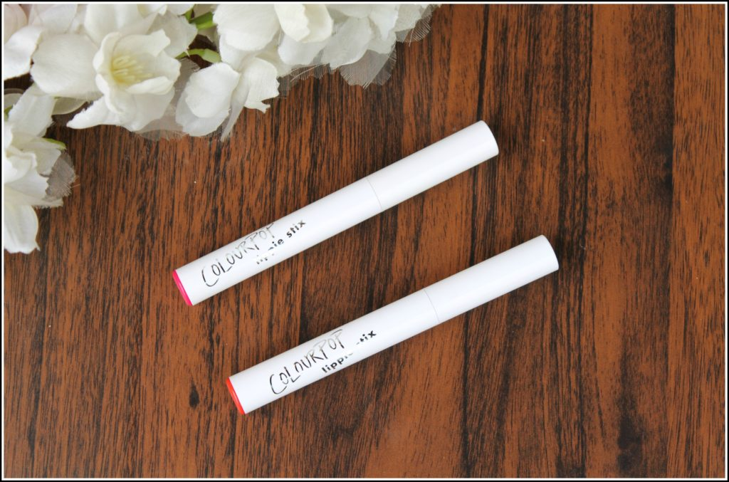 Color Pop Lippie Stix Review & Swatches- Love Life & Poppin'- Review & Swatches