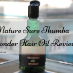 Nature Sure Thumba Wonder Hair Oil Review