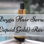 Deyga Hair Serum (Liquid Gold) Review