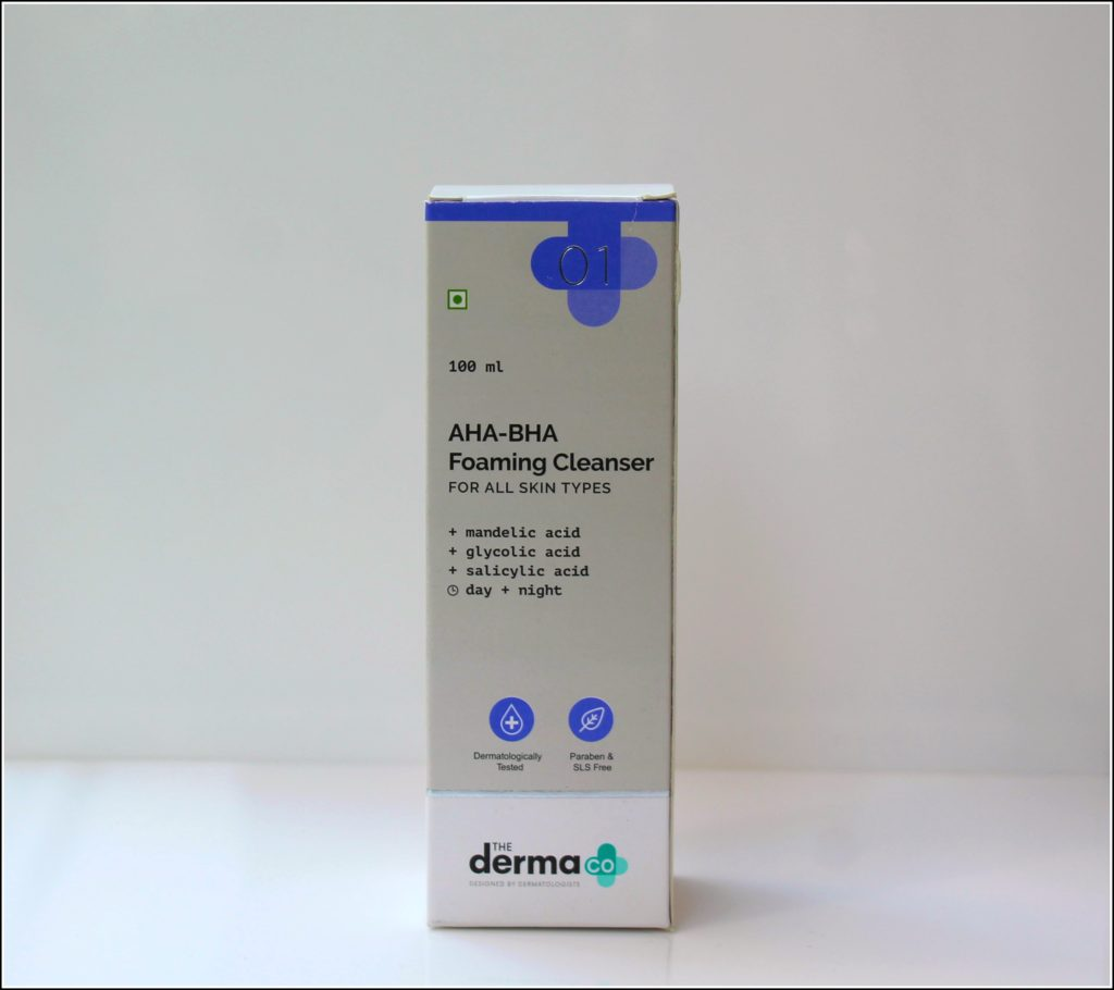 The Derma Co. AHA BHA Foaming Cleanser Review