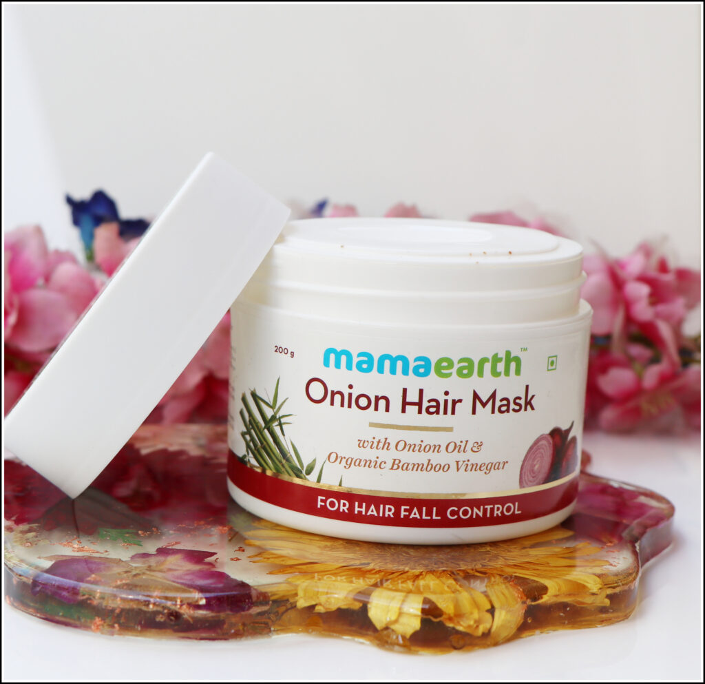 Mama Earth Onion Hair Mask Review