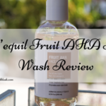 Re'equil Fruit AHA Face Wash Review